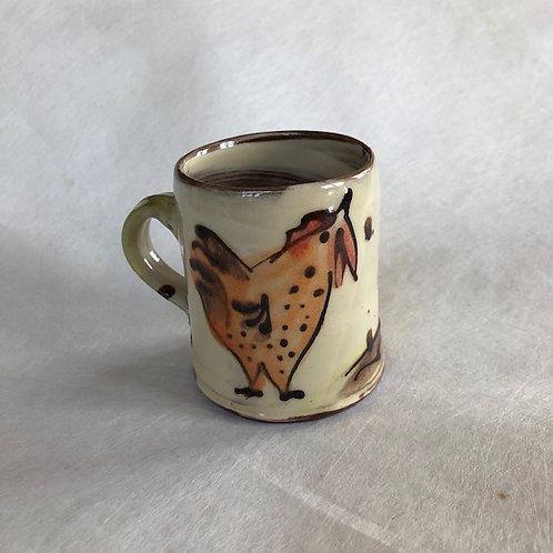 Josie Walter mug with hen