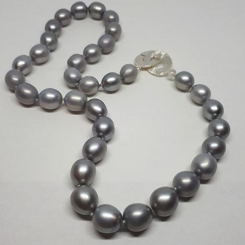Janis Waldron grey freshwater pearls