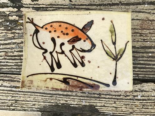 Josie Walter butter slab/sushi plate