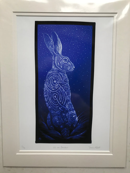 """Tamsin Abbott """"We are Stardust"""" limited edition print"""