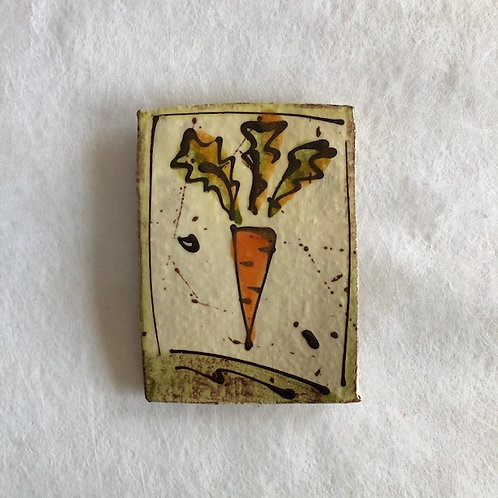 Josie Walter butter slab with carrot