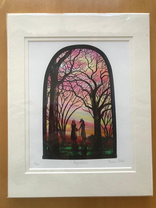 "Tamsin Abbott limited edition print "" Reynardine"""