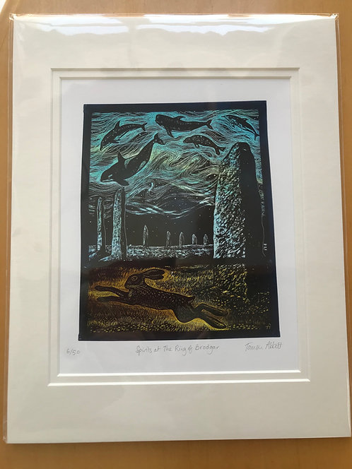 "Tamsin Abbott limited edition ""Spirits"" print"