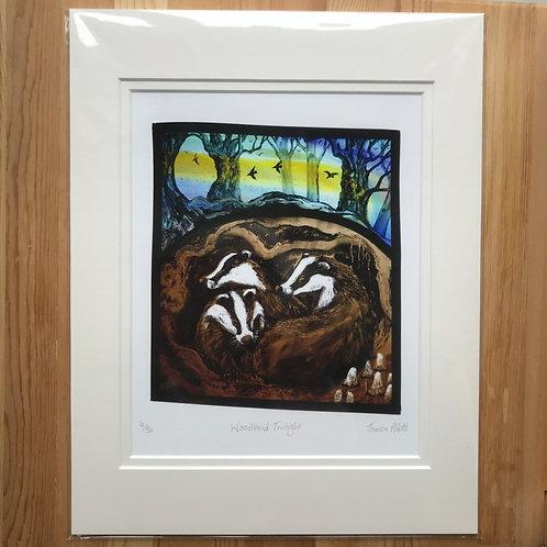 "Tamsin Abbott ""Woodland Twilight"" limited edition print"