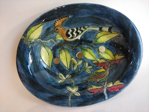 Jeanne Jackson ceramic hoepoo soap dish(no.30)
