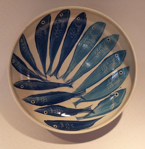Carey Moon stoneware fish dish no. 2