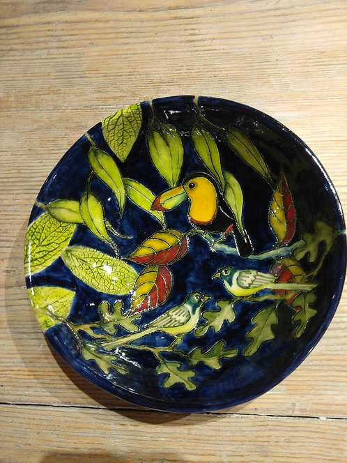 JeanneJackson ceramic Toucan dish (no.34)