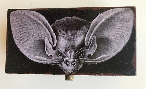 Jo Verity Bat decoupage box
