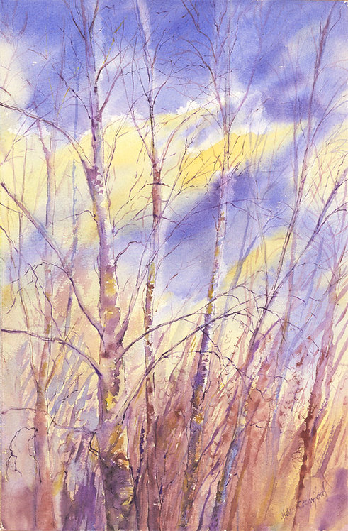 "Helen Crawford "" Winter Light"" print"