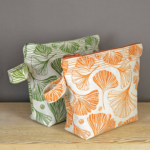 Jill Pargeter screen printed washbag