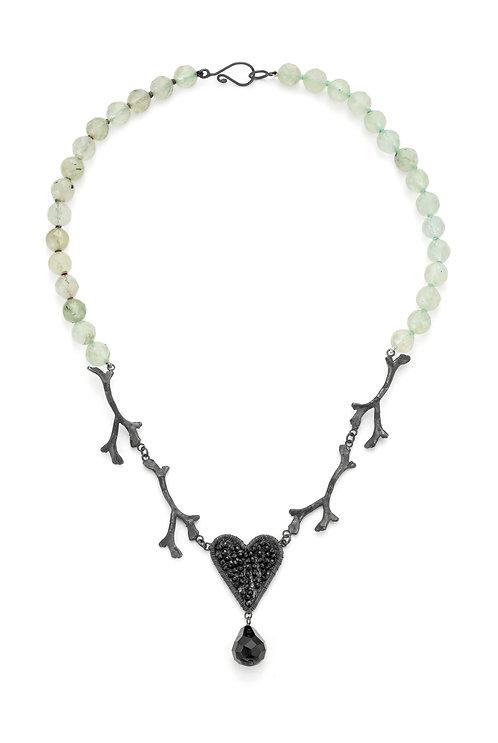 Rosie Keogh prehnite necklace