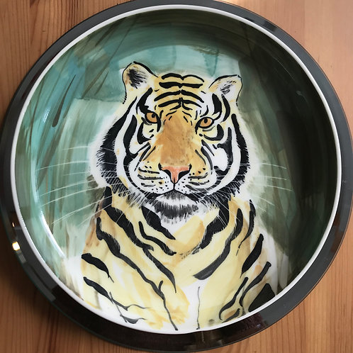 CareyMoon Tiger Poetry Bowl