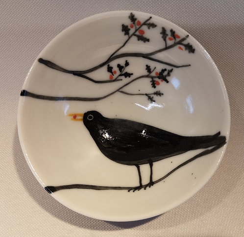 Carey Moon mini porcelain blackbird dish (9)