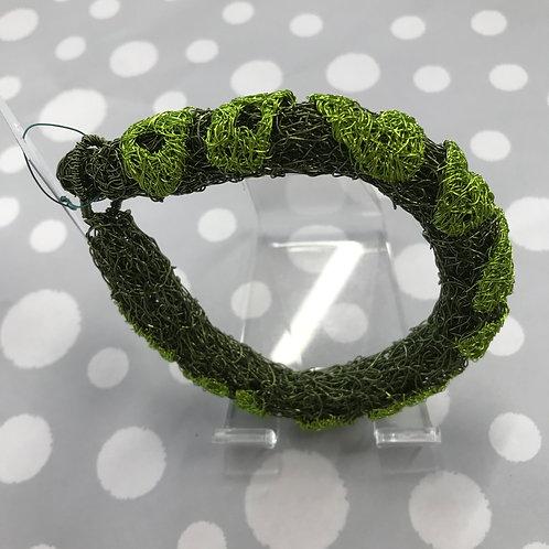 Jo Dewar lime snake bracelet