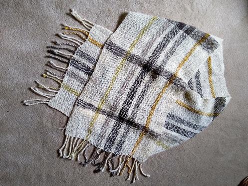 Chris Harris Shetland wool scarf
