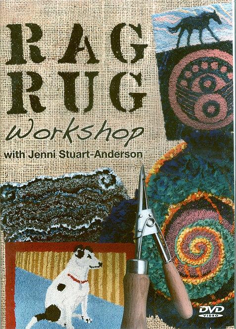 Jenni Stuart-Anderson DVD 'RAG RUG WORKSHOP'