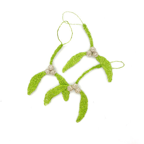 Jo Dewar mistletoe decoration