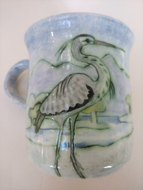 Jeanne Jackdon heron mug