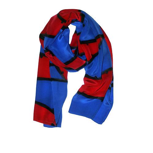 Shelley Faye Lazar silk scarf 1