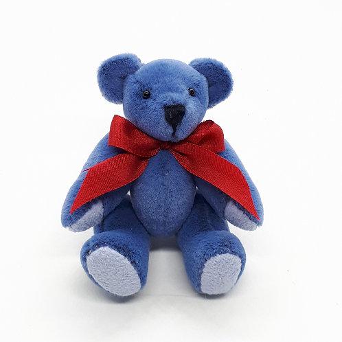 "Janis Waldron ""Dapper""the blue bear"
