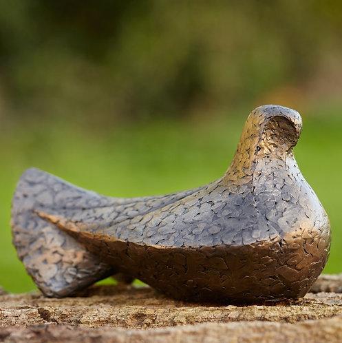 Caro Burberry bronze resin 'TRANQUILITY'