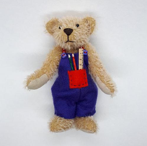"""Janis Waldron """" Robbie"""" bear"""