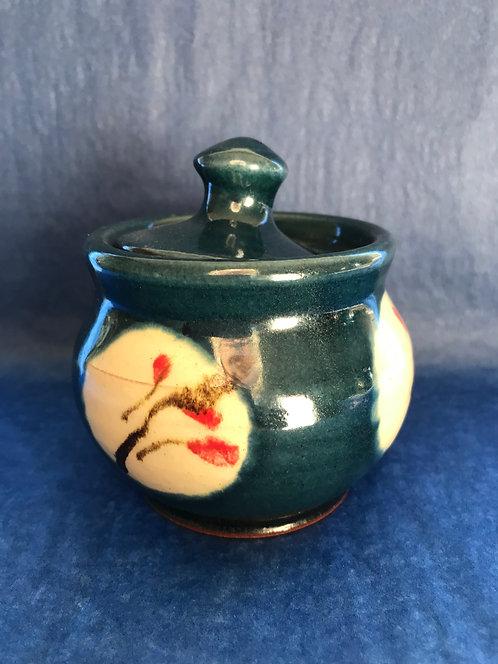 Victor Hugo small storage jar with lid