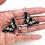 Thumbnail: Vikki Lafford Garside Swallowtail butterfly earrings