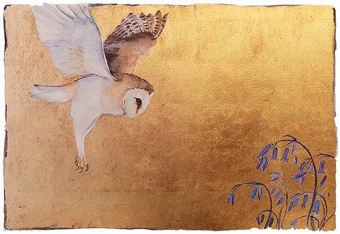 Jackie Morris limited edition 'Silent Flight'