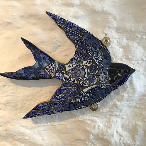 Emily Lawlor medium mosaic swallow