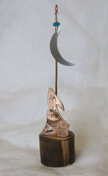 Amanda Rawling copper moongazing hare