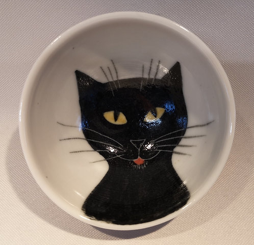 Carey Moon mini porcelain cat dish