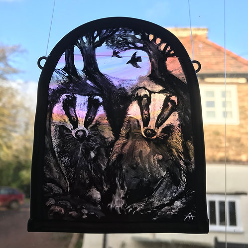 """Tamsin Abbott """"Badgers Wake Up Time"""""""