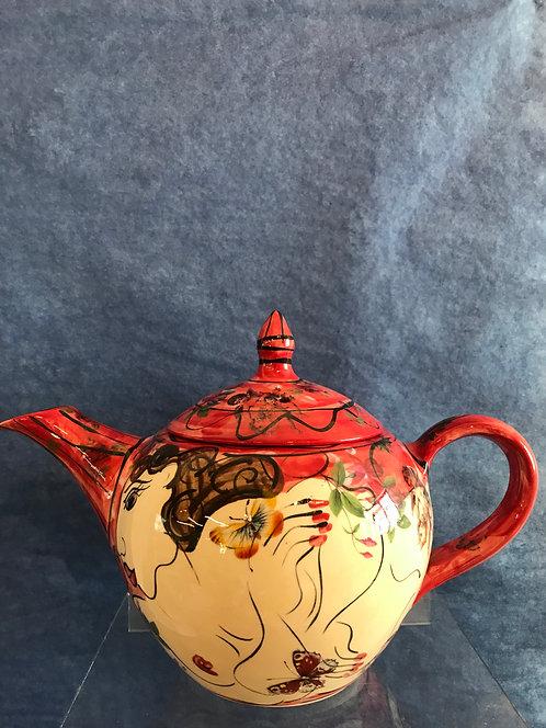 Karen Atherley teapot