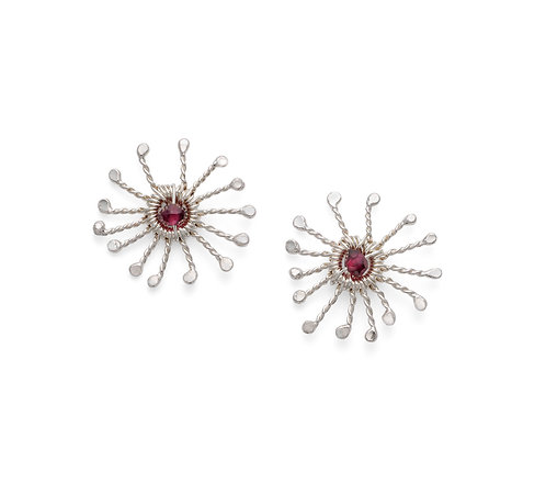 Rosie Keogh small sunstar stud earrings
