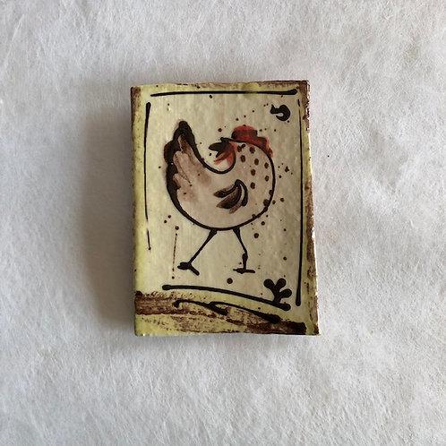 Josie Walter hen butter slab