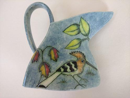 Jeanne Jackson Hoopoe/Kingfisher mug