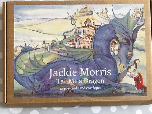 Jackie Morris 'Tell Me a Dragon' postcards