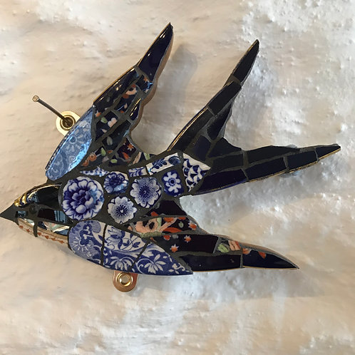 Emily Lawlor small mosaic swallow