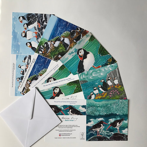 Marie Therese King Coastal Card pack