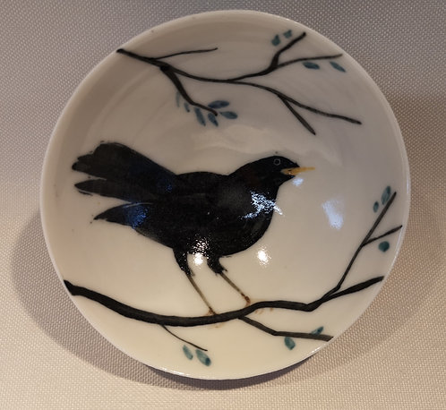 Carey Moon mini porcelain blackbird dish (8)