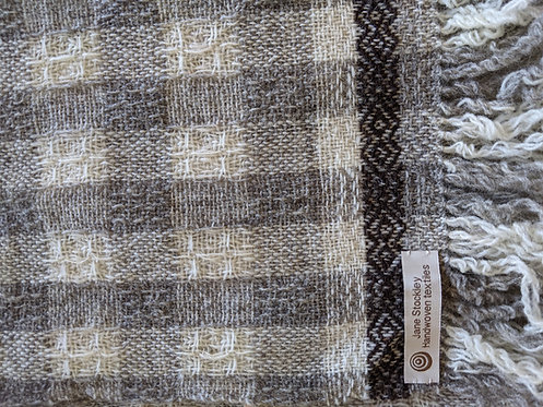 Jane Stockley Moonlight waffle weave scarf