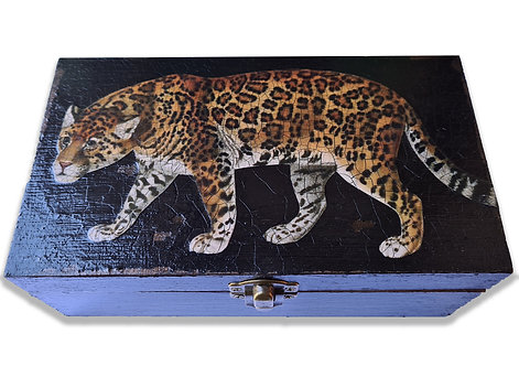 Jo Verity large leopard box