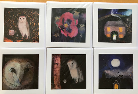 Catherine Hyde card pack 1 ( pack of 6)