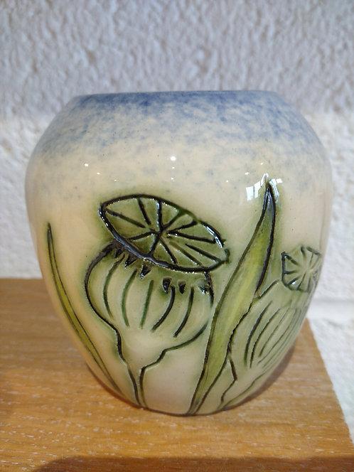 Jeanne Jackson ceramic pot(no.26)
