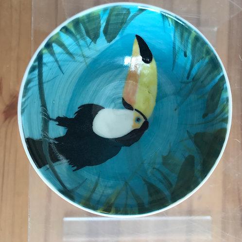 Carey Moon mini toucan bowl