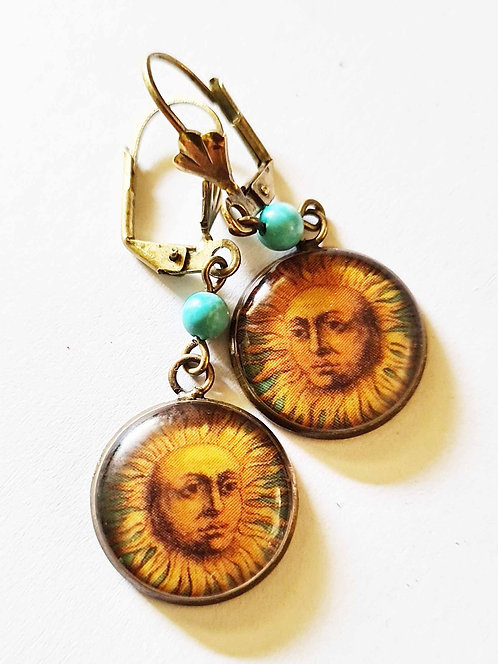 Jo Verity Sun Earrings