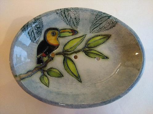 Jeanne Jackson toucan soap dish