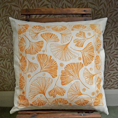 Jill Pargeter screen printed cushion