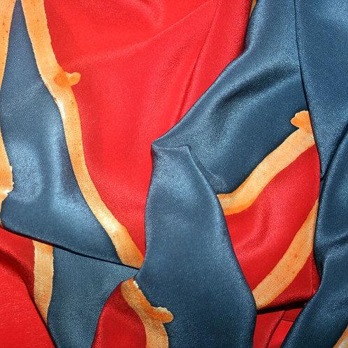 Shelley Faye Lazar silk scarf 2